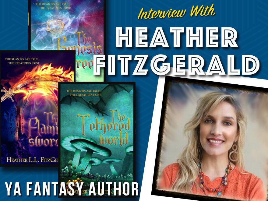 Heather Fitzgerald YA Fantasy Author